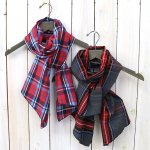 ENGINEERED GARMENTS『Long Scarf-Brushed Plaid』