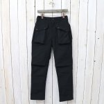 ENGINEERED GARMENTS『Norwegian Pant-Cotton Double Cloth』(Black)