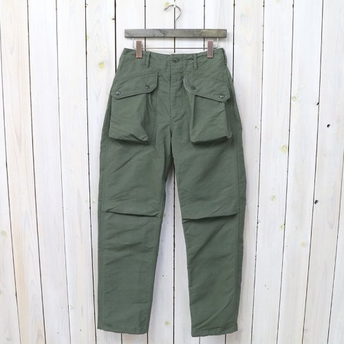 『Norwegian Pant-Cotton Double Cloth』(Olive)
