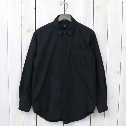 『Short Collar Shirt-Heavy Oxford』(Black)