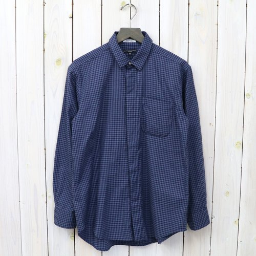 『Short Collar Shirt-Gingham Check』