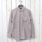ENGINEERED GARMENTS『Short Collar Shirt-Tattersall Check』(Yellow/Maroon)