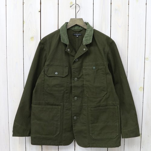『Logger Jacket-12oz Duck Canvas』(Olive)