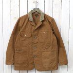 ENGINEERED GARMENTS『Logger Jacket-12oz Duck Canvas』(Brown)