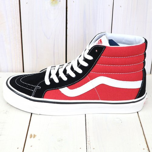 『SK8-HI 38 DX』((ANAHEIM FACTORY)OG BLACK/OG RED)