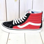 VANS『SK8-HI 38 DX』((ANAHEIM FACTORY)OG BLACK/OG RED)