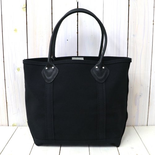 『Leather Handle Boat and Tote II』(Black)