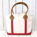 L.L.Bean『Leather Handle Boat and Tote II』(Red)