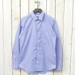 nanamica『Wind Stripe Shirt』(Blue Narrow Stripe)