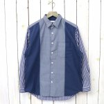 nanamica『Wind Panel Shirt』(Navy)