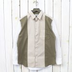 nanamica『Wind Panel Shirt』(Beige)