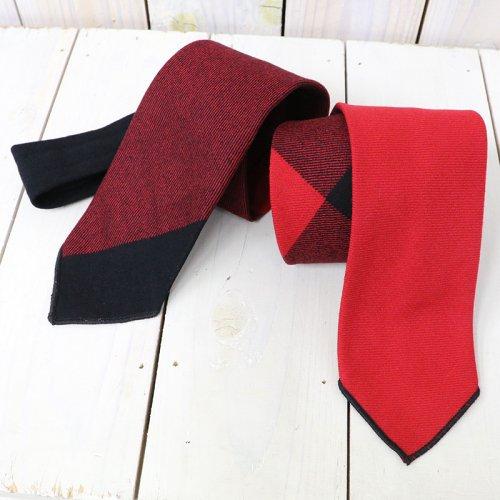 『Neck Tie-Big Plaid Worsted Wool Flannel』