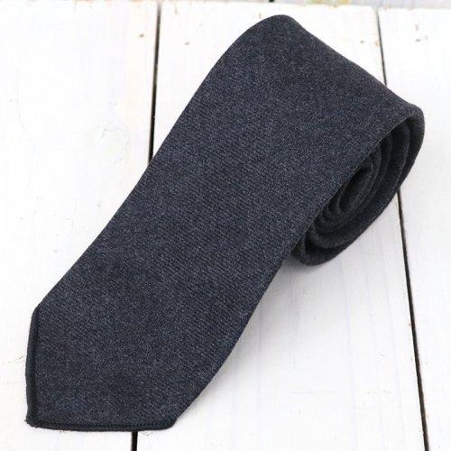 『Neck Tie-Heather Worsted Wool Flannel』