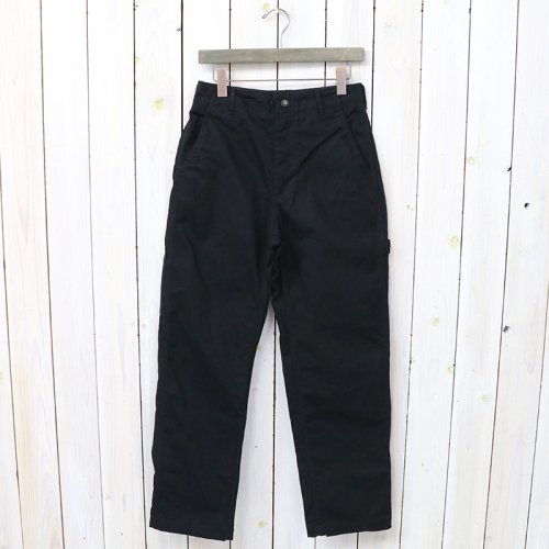『Logger Pant-12oz Duck Canvas』(Black)