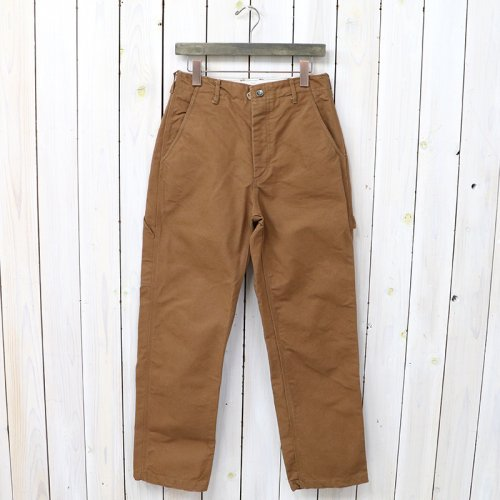 『Logger Pant-12oz Duck Canvas』(Brown)
