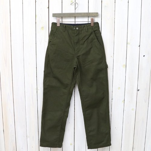 『Logger Pant-12oz Duck Canvas』(Olive)