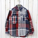 ENGINEERED GARMENTS『Work Shirt-Heavy Twill Plaid』(Navy/Red/White)