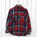 ENGINEERED GARMENTS『Work Shirt-Heavy Twill Plaid』(Red/Navy/Teal)