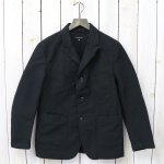 ENGINEERED GARMENTS『Bedford Jacket-Cotton Double Cloth』(Black)