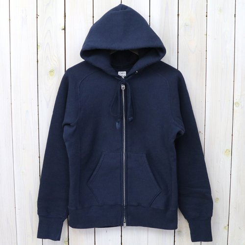 『Zip Sweat Parka』(Navy)
