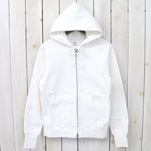 『Zip Sweat Parka』(White)