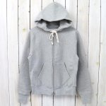 ANATOMICA『Zip Sweat Parka』(Gray)
