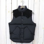Rocky Mountain Featherbed『Down Vest』(BLACK)
