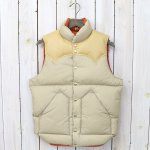 Rocky Mountain Featherbed『Down Vest』(TAN)