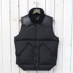 Rocky Mountain Featherbed『Christy Vest』(BLACK)