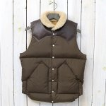 Rocky Mountain Featherbed『Christy Vest』(D.BROWN)
