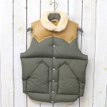 Rocky Mountain Featherbed『Christy Vest』(OLIVE)