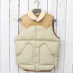 Rocky Mountain Featherbed『Christy Vest』(TAN)