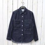 SASSAFRAS『PRUNER LEAF HALF(6oz DENIM)』(INDIGO)