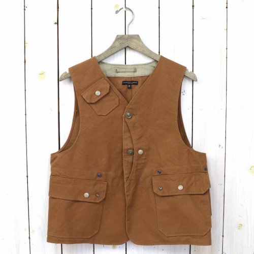 『Upland Vest-12oz Duck Canvas』(Brown)