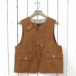 ENGINEERED GARMENTS『Upland Vest-12oz Duck Canvas』(Brown)
