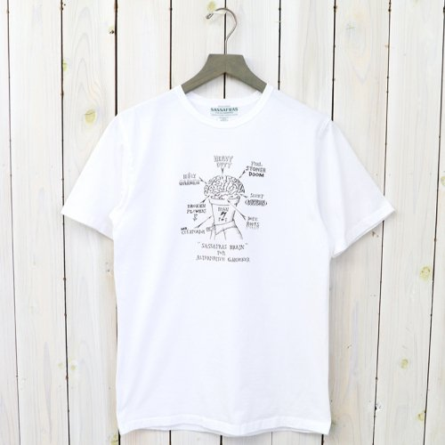 SASSAFRAS『SF BRAIN T 1/2』(WHITE)