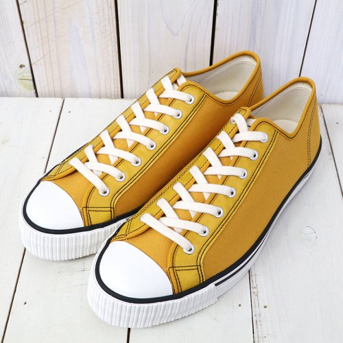 『Lot 3200 LOW CUT CANVAS SNEAKER』(MUSTARD)