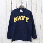 MILITARY DEAD STOCK『U.S.NAVY Long Sleeve Tee』(Navy)