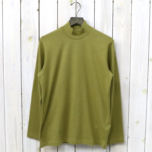 『MOCK NECK TEE L/S』(Gold)