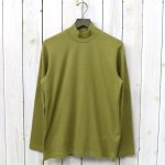ANATOMICA『MOCK NECK TEE L/S』(Gold)