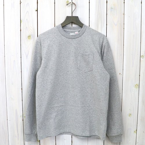 『POCKET TEE L/S』(Gray)