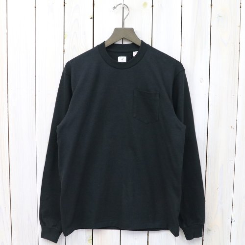 『POCKET TEE L/S』(Black)