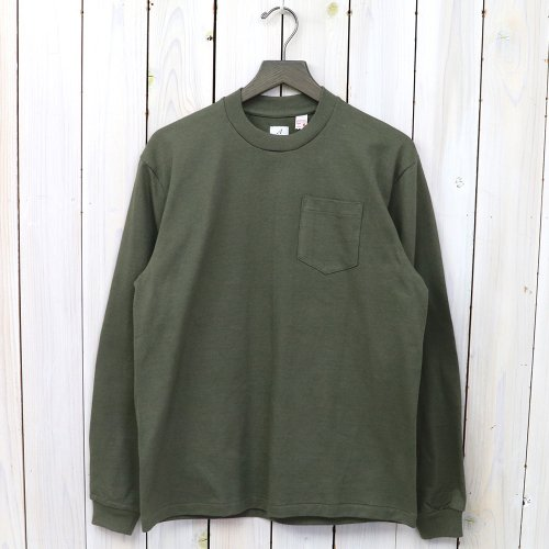 『POCKET TEE L/S』(Green)