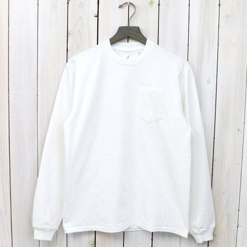 『POCKET TEE L/S』(White)