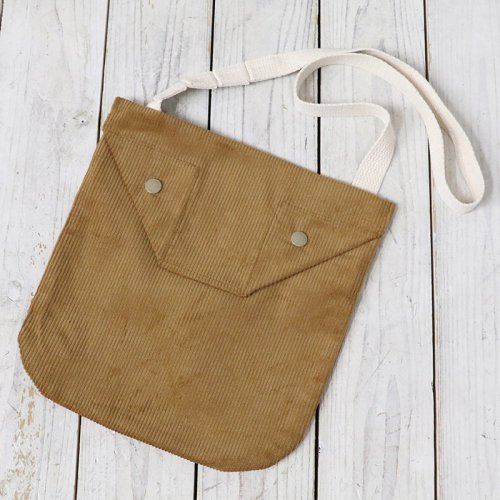 『Shoulder Pouch-8W Corduroy』