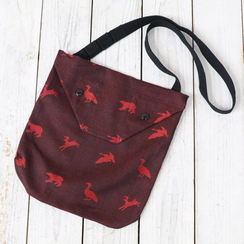 『Shoulder Pouch-Game Animal Jacquard』
