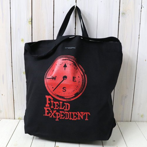 『Carry All Tote w/Strap-Compass』(Red)