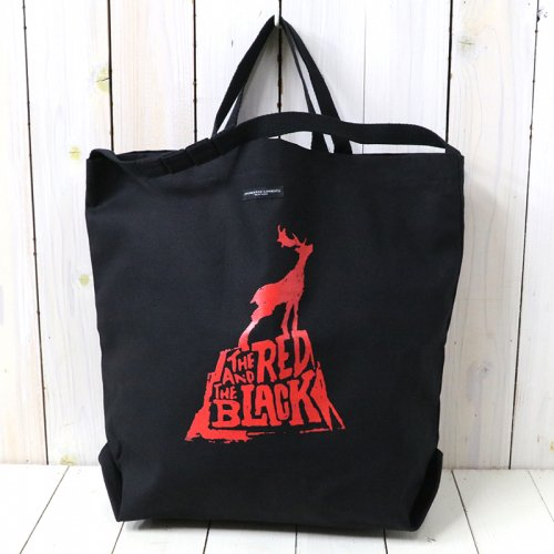 『Carry All Tote w/Strap-The Red & The Black』(Red)