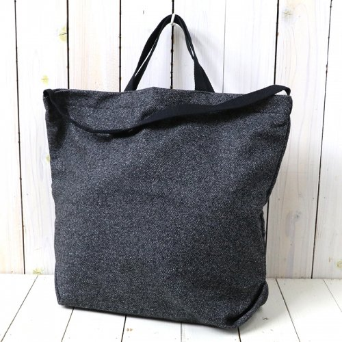 『Carry All Tote w/Strap-Wool Homespun』