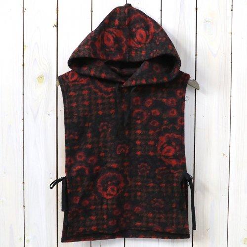 『Hooded Interliner-Floral Knit』